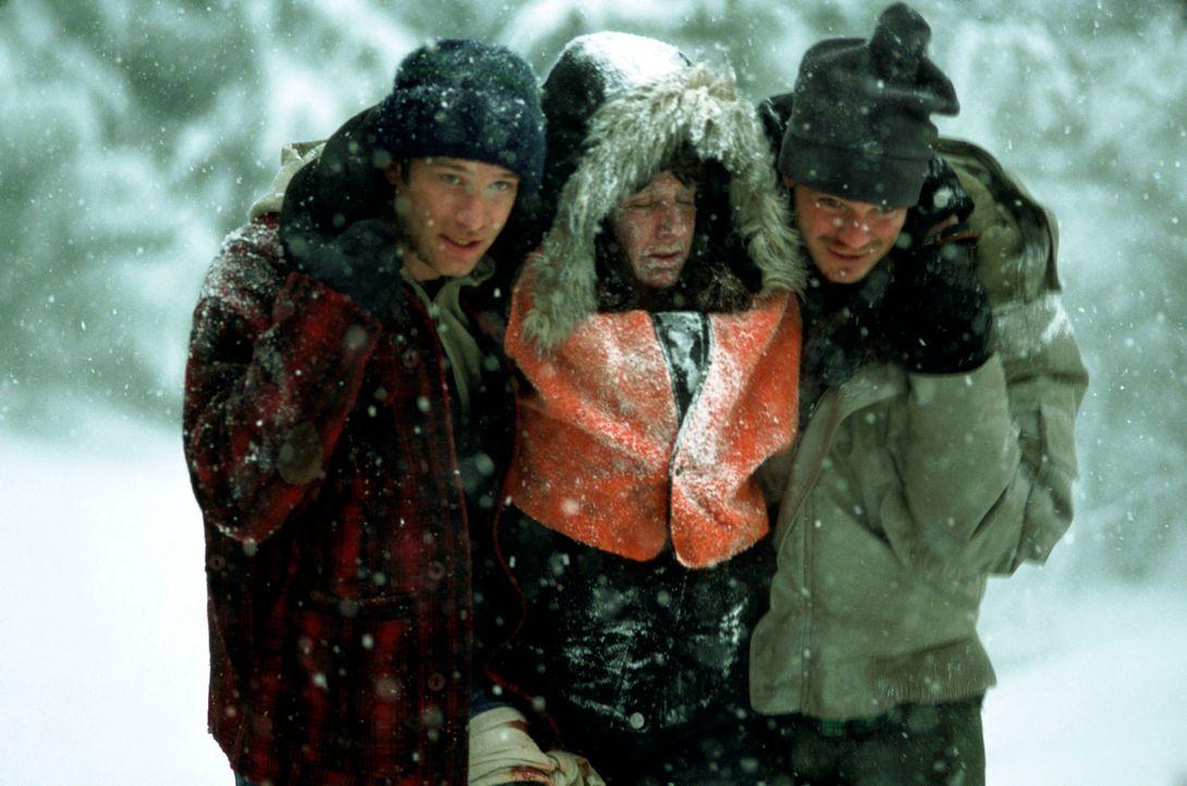 Ein schrecklicher Alptraum nimmt seinen Lauf: (v.l.n.r.) Henry (Thomas Jane), Becka (Susan Charest) und Pete (Timothy Olyphant) ... - Bildquelle: Warner Bros.