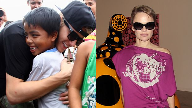Top: Justin Bieber+++Flop: Pamela Anderson - Bildquelle: AFP