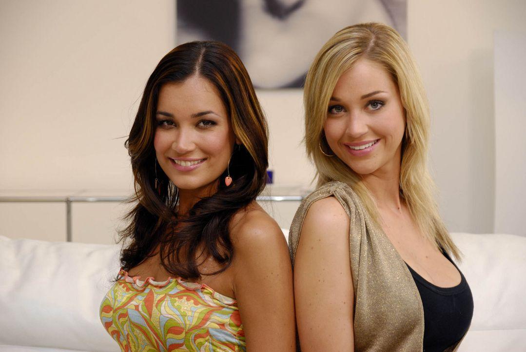 Jana Ina (l.) und Regina (r.) sind sich sicher: In jedem Freak steckt ein toller Mann! - Bildquelle: ProSieben