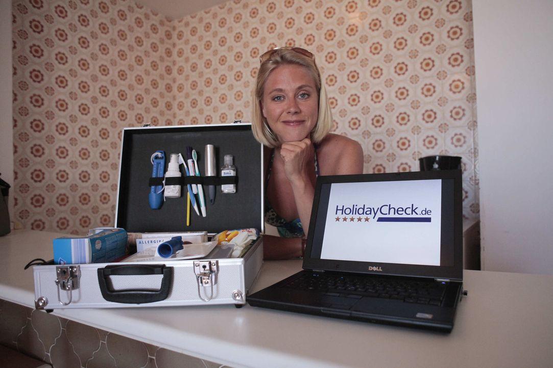 Wenn Hotels nicht halten, was sie versprechen, ist Nina Heinemann nicht weit. Ihr Revier sind Reiseziele wie Mallorca und Gran Canaria ... - Bildquelle: kabel eins