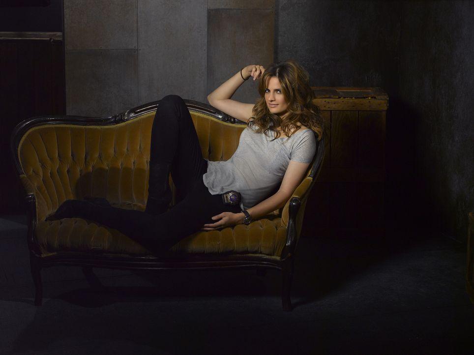 (5. Staffel) - Arbeitet strickt nach Regeln der Polizei: Kate Beckett (Stana Katic) - Bildquelle: ABC Studios