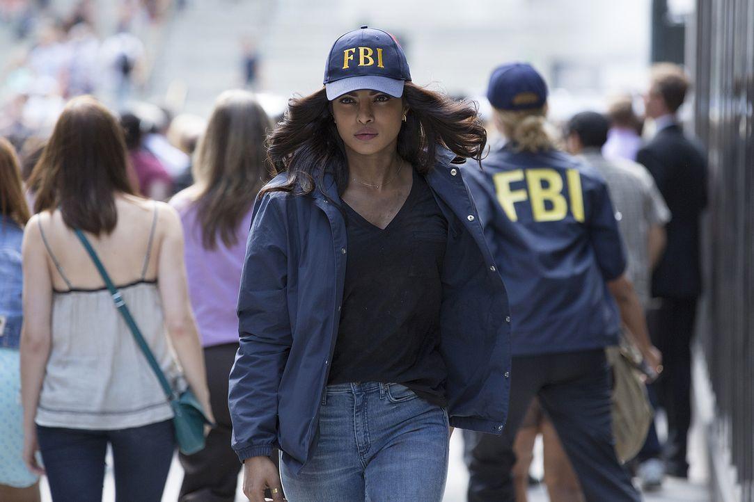 Versucht alles, um zu beweisen, dass sie keine Terroristin ist: die junge FBI-Agentin Alex Parrish (Priyanka Chopra) - Bildquelle: 2015 ABC Studios