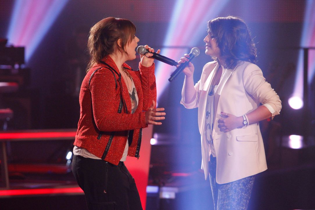 battle-kristin-vs-evi-02-the-voice-of-germany-huebnerjpg 2448 x 1632 - Bildquelle: SAT.1/ProSieben/Richard Hübner