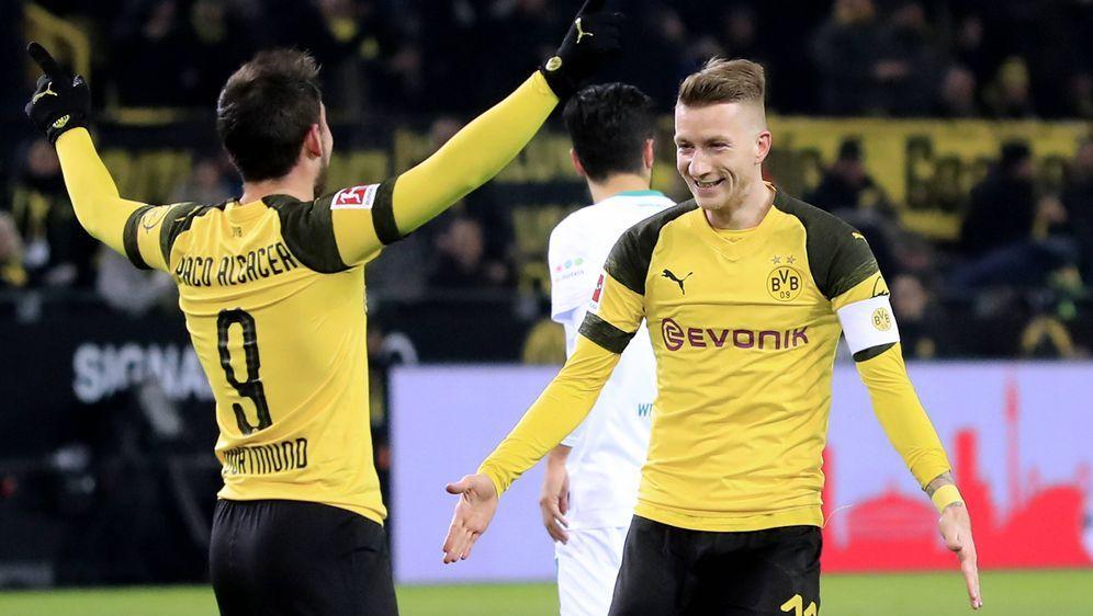 Borussia Dortmund trifft am Dienstag daheim im Achtelfinale des DFB-Pokals a... - Bildquelle: imago