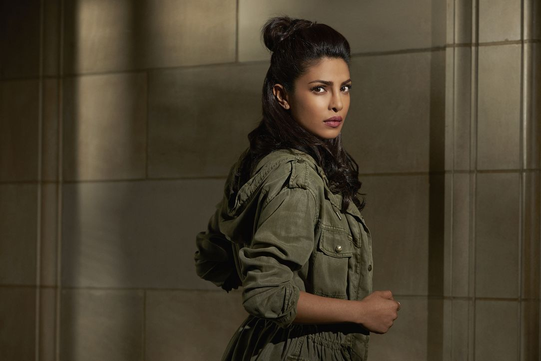 (1. Staffel) - Nach einem Attentat wird die junge FBI-Agentin Alex Parrish (Priyanka Chopra) zur Hauptverdächtigen. Während sie ihre Unschuld beteue... - Bildquelle: 2015 ABC Studios