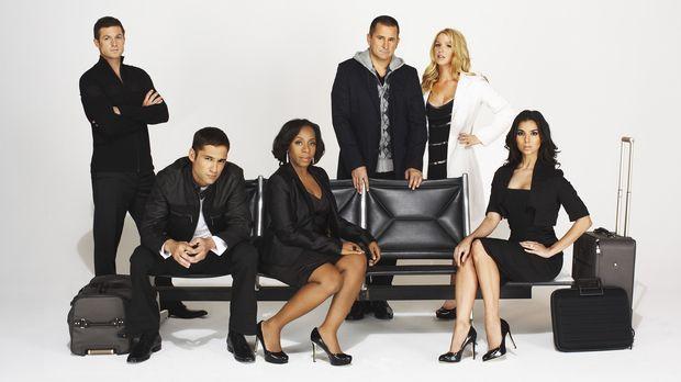 (7. Staffel) - Die Spezialeinheit des FBI für vermisste Personen (v.l.n.r.):...