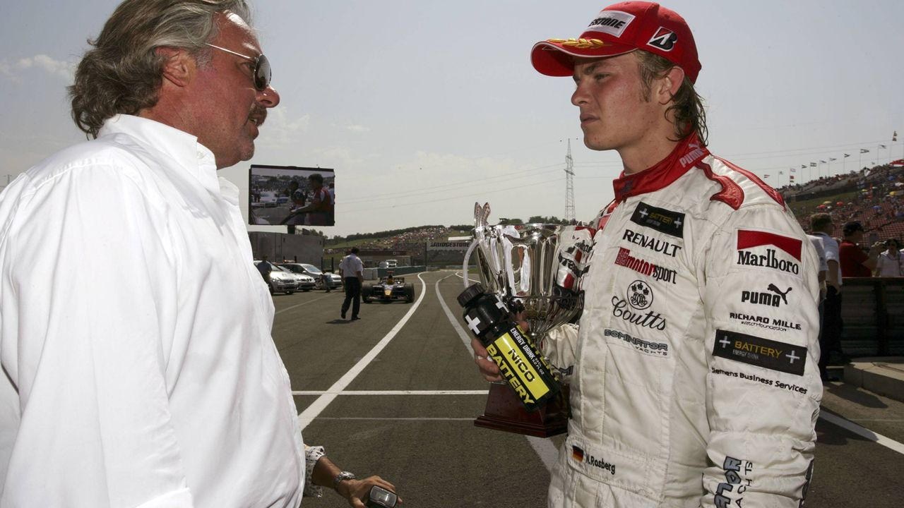2005: Nico Rosberg - Bildquelle: imago