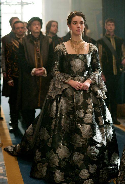 Mary (Adeleide Kane) sucht verzweifelt nach einem neuen potenziellen Ehemann, der als Schottlands Verbündeter fungieren kann. Unterdessen macht Lola... - Bildquelle: Sven Frenzel 2016 The CW Network, LLC. All rights reserved.