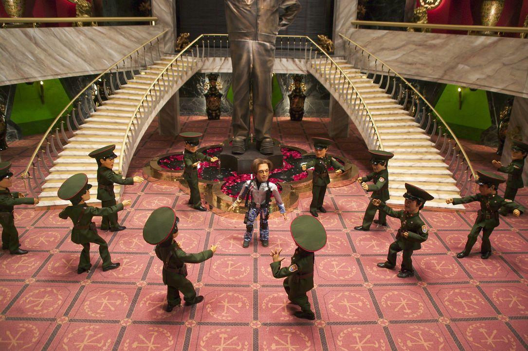 Die Welt muss mal wieder gerettet werden: Glücklicherweise ist der neue Broadway-Star Gary Johnston (M.) bereit, Leib und Leben für die Freiheit zu... - Bildquelle: Paramount Pictures