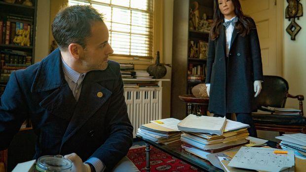 Müssen einen neuen Mordfall aufdecken: Sherlock Holmes (Jonny Lee Miller, l.)...