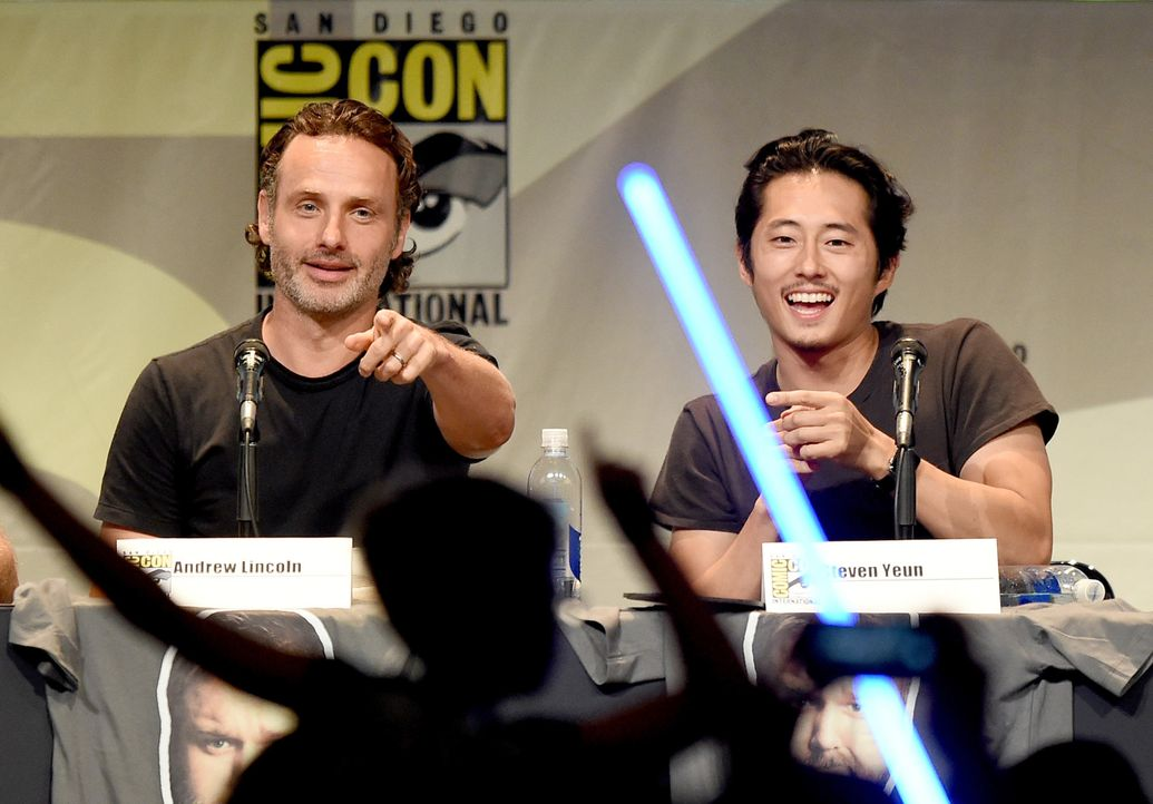 Comic-Con-2015-03-TWD-lincoln-yeun-getty-AFP - Bildquelle: getty-AFP