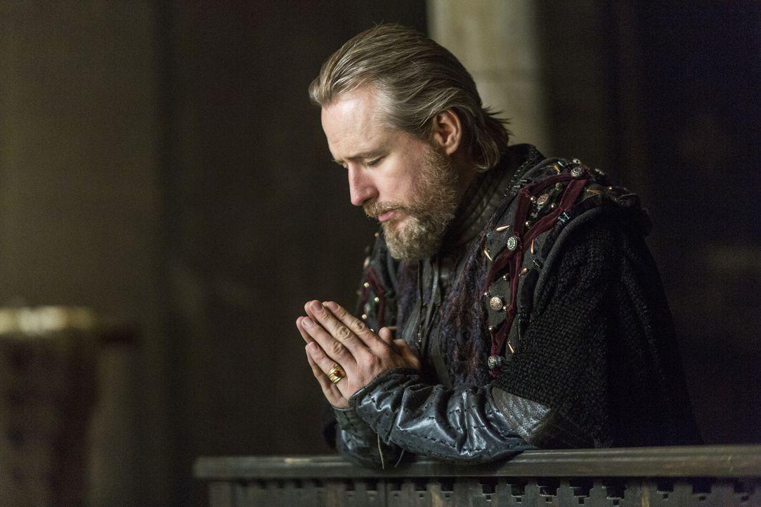 Ein Treffen zwischen Ragnar und König Ecbert (Linus Roache) steht bevor. Doch werden sie einen Kompromiss für einen möglichen Frieden finden? - Bildquelle: 2014 TM TELEVISION PRODUCTIONS LIMITED/T5 VIKINGS PRODUCTIONS INC. ALL RIGHTS RESERVED.
