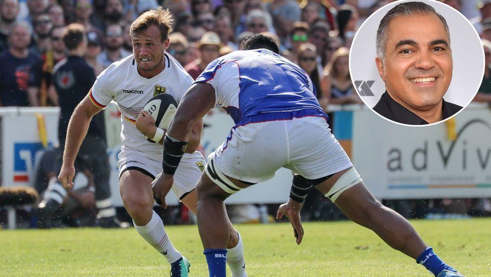 """Kennt sich nicht nur in Wissenfragen aus, sondern auch im Rugby: """"Galileo""""-M... - Bildquelle: 2015 Getty Images"""