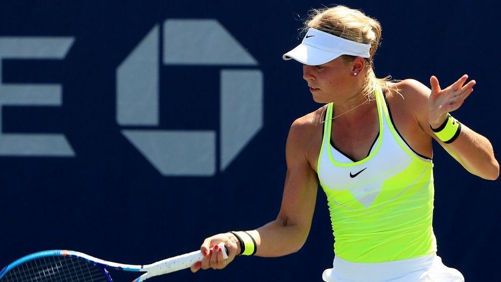 Carina Witthöft unterliegt im Viertelfinale - Bildquelle: GETTY AFPSIDMichael Reaves