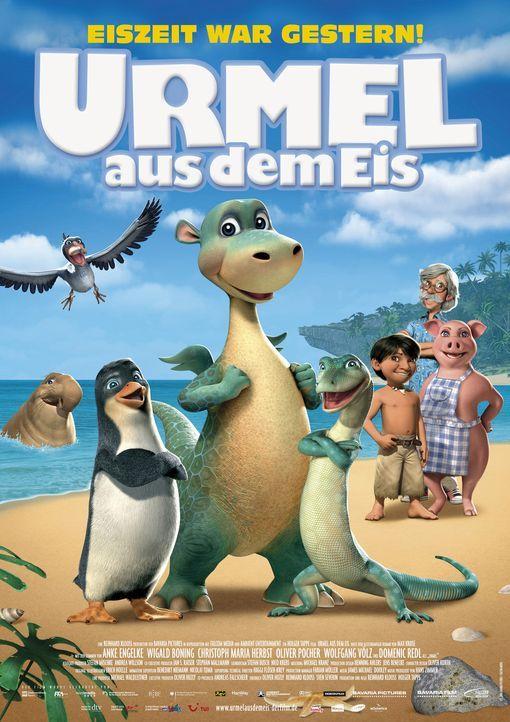 """""""Urmel aus dem Eis"""" - Plakatmotiv - Bildquelle: Warner Bros."""