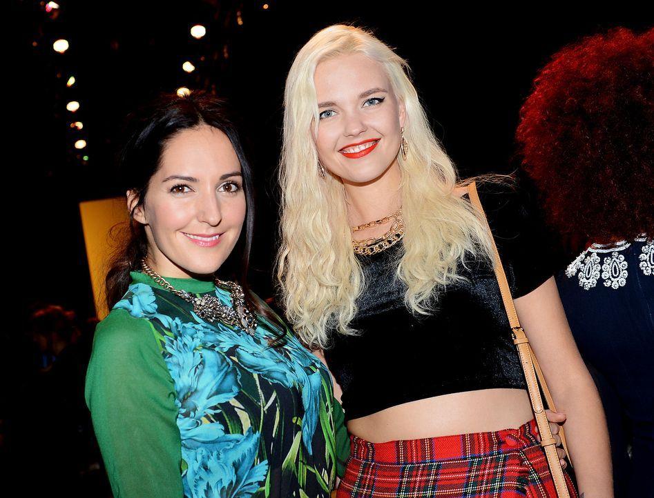 Fashion-Week-Berlin-Johanna-Klum-Bonnie-Strange-14-01-15-dpa - Bildquelle: dpa