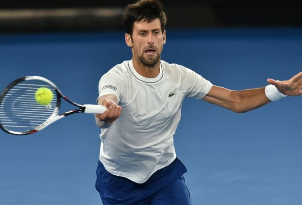 Superstar Novak Djokovic noch nicht bei 100 Prozent