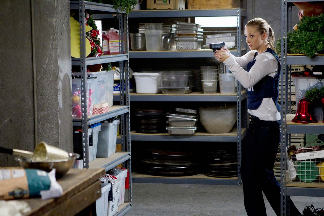 Versucht, einen Serientäter zu stellen: JJ (A. J. Cook) ... - Bildquelle: ABC Studios