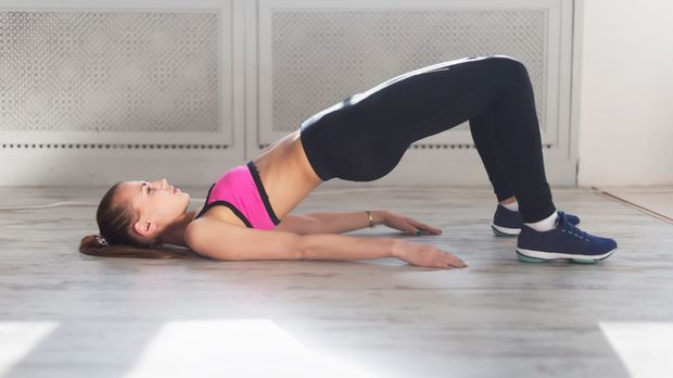 Übungen für die Oberschenkelinnenseite nicht vergessen – schließlich sollen j...