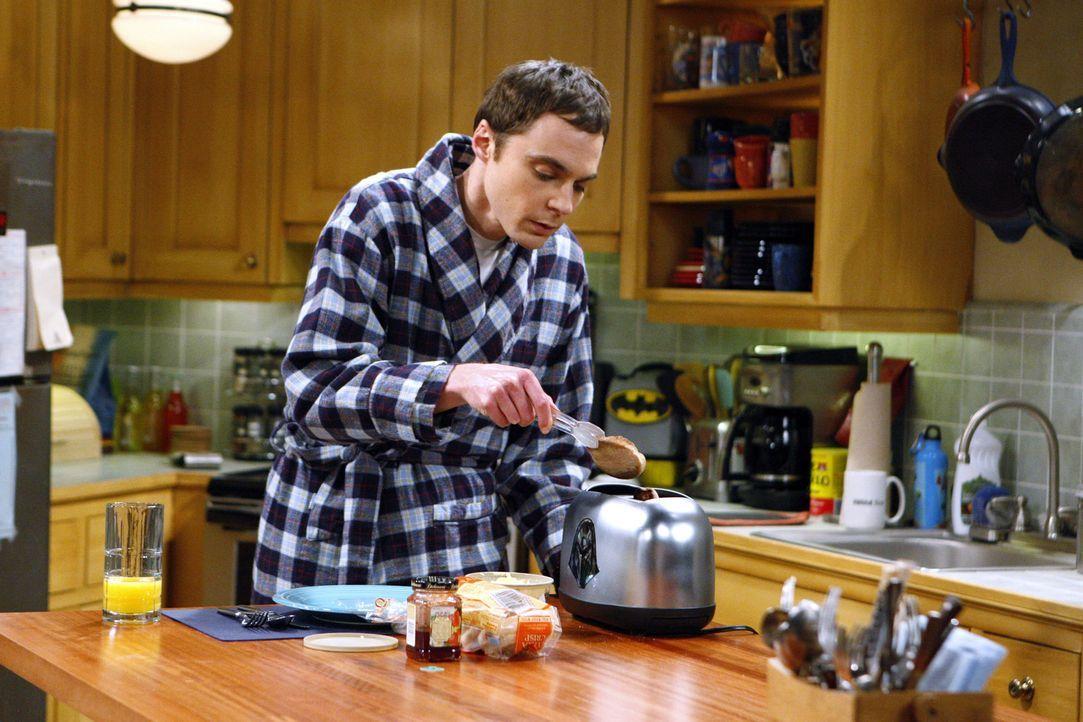 Howard und Raj suchen im Internet nach der perfekten Frau für Sheldon (Jim Parsons) und beantworten jede Frage so, wie Sheldon sie beantworten wür... - Bildquelle: Warner Bros. Television