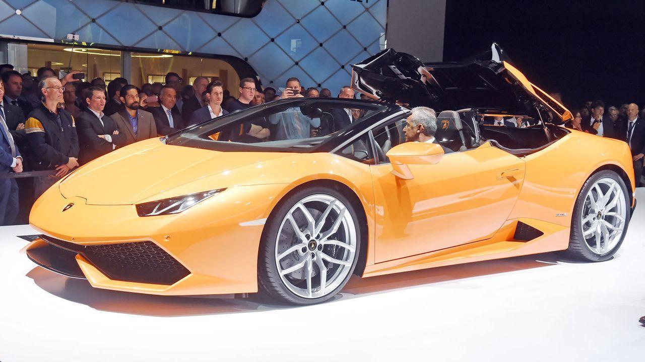 Lamborghini_Huracan_Spyder_7 - Bildquelle: dpa