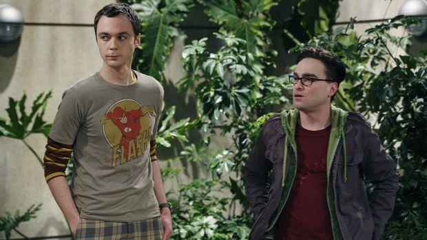 Die begnadeten Physiker Leonard (Johnny Galecki, r.) und Sheldon (Jim Parsons...