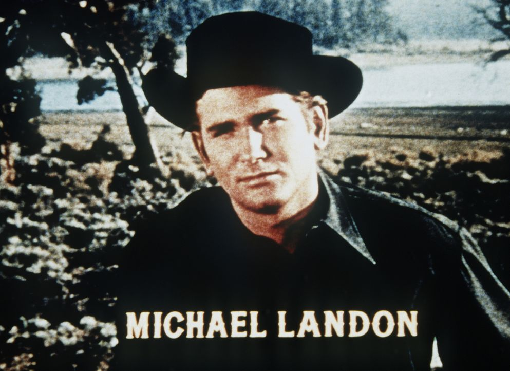 Little Joe (Michael Landon) ist der jüngste der Cartwrights. - Bildquelle: Paramount Pictures