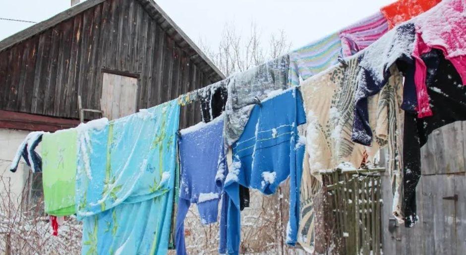 taff - Video - Deshalb solltest du deine Wäsche bei Frost draußen ...