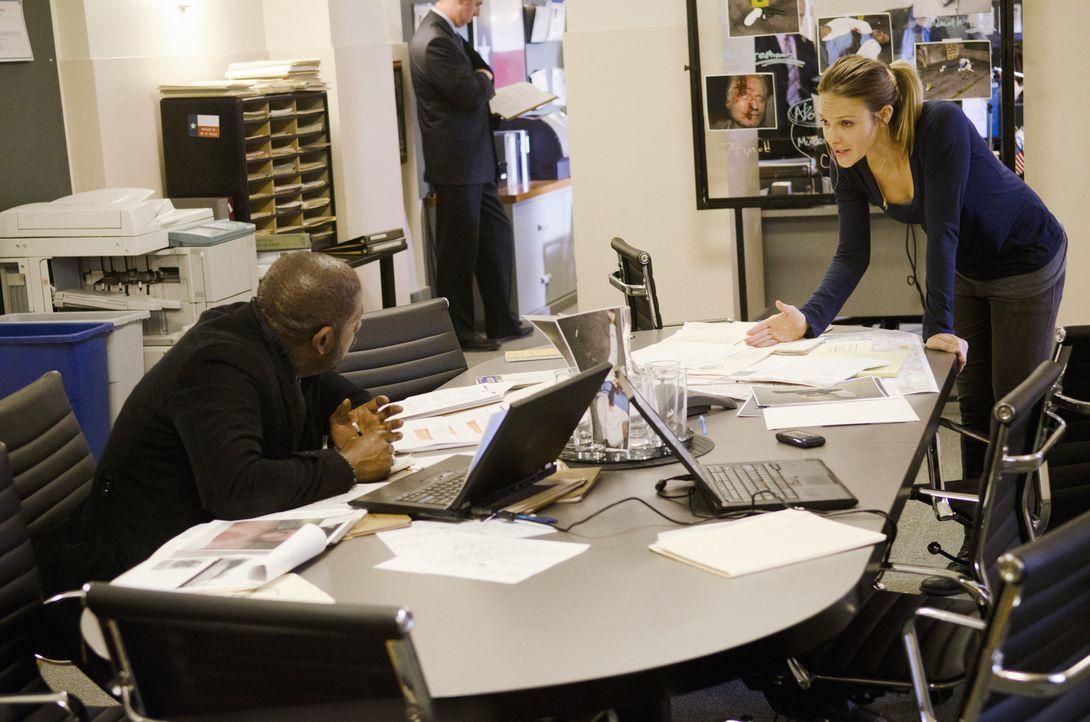 Bringen jeden Täter zur Strecke: Gina (Beau Garrett, r.) und Sam (Forest Whitaker, l.) ... - Bildquelle: ABC Studios