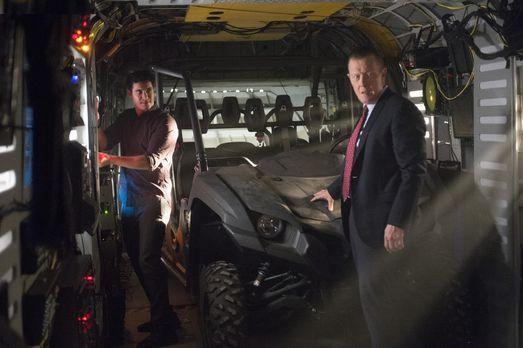 Scorpion - Müssen dem CIA helfen, ein Flugzeug in der Area 51 zu finden: Walt...