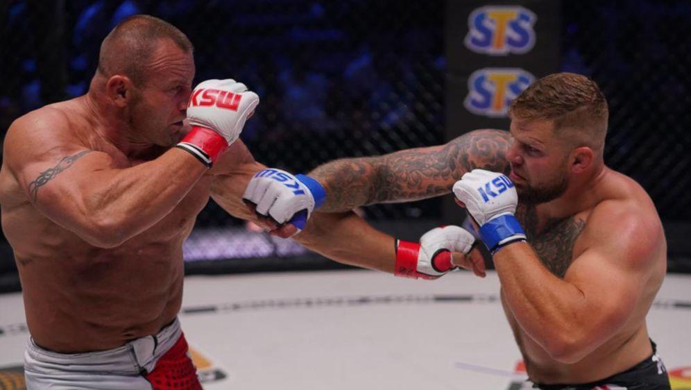 Karol Bedorf (re.) konnte den Schwergewichts-Titel nicht zurückerobern - Bildquelle: KSW MMA