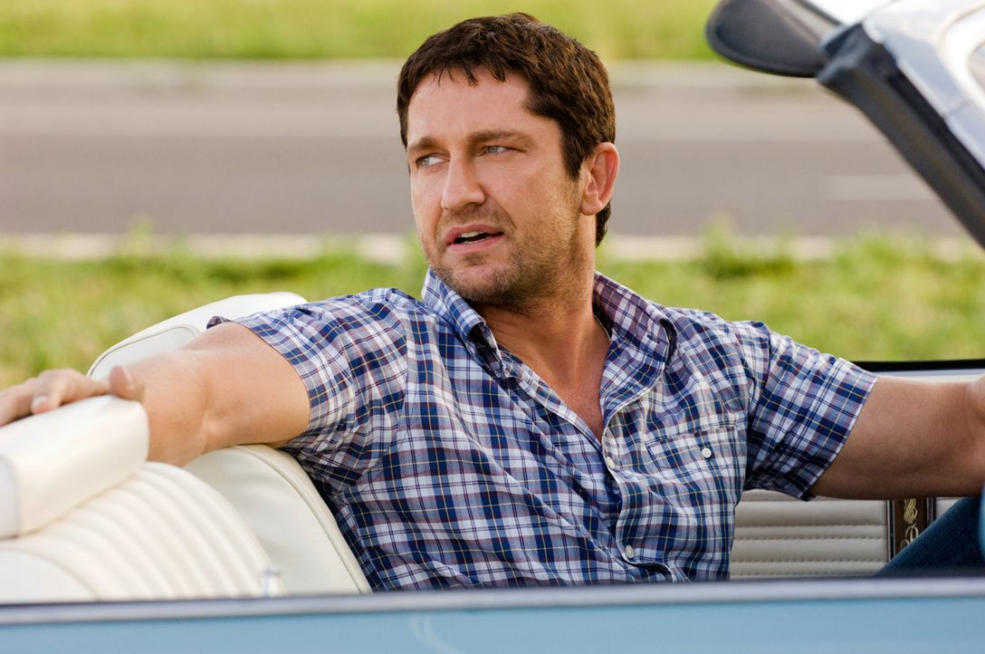 Der zuletzt etwas glücklose Kautions-Cop Milo Boyd (Gerard Butler) hat soeben seinen persönlichen Traumjob ergattert: Er soll seine Ex ins Gefäng... - Bildquelle: 2010 Columbia Pictures Industries, Inc. and Beverly Blvd LLC. All Rights Reserved.