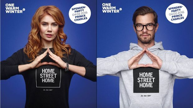 Palina Rojinski, Joko und Co.: Coole Charity-Aktion für Obdachlose