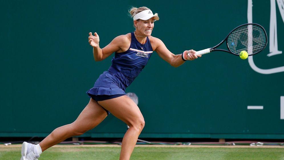 Angelique Kerber scheitert in Eastbourne im Halbfinale - Bildquelle: PIXATHLONPIXATHLONSID