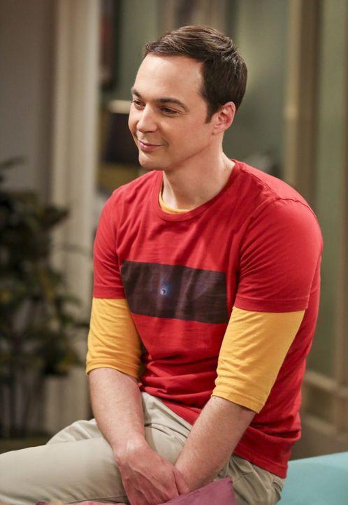 Noch vermisst Sheldon (Jim Parsons) seine Freundin Amy, die zur Zeit ein Sommerstipendium an der Princeton Universität hat, doch schon bald wartet j... - Bildquelle: 2016 Warner Brothers