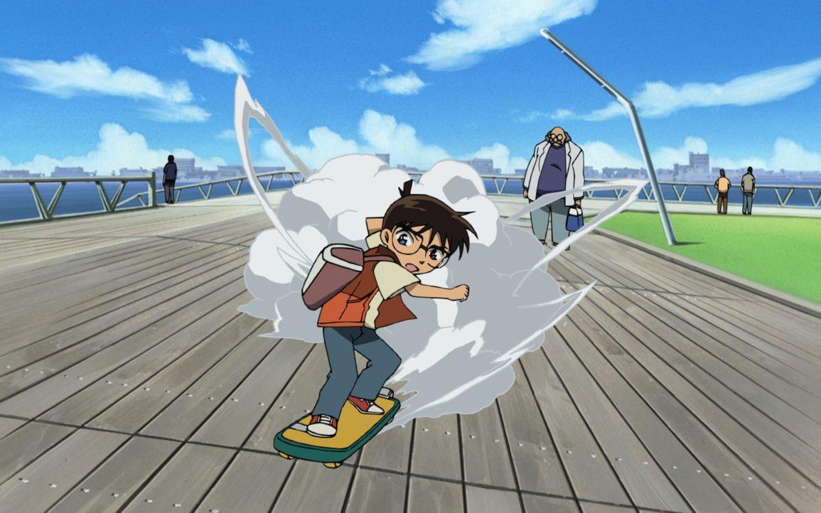 Ein neuer Fall für Conan (M.): Nachdem er gemeinsam mit seinen Freunden in einen Freizeitpark eingeladen wurde, stellt sich heraus, dass es eine Fal... - Bildquelle: 2006 GOSHO AOYAMA / SHOGAKUKAN-YTV-NTV-ShoPro-TOHO-TMS All Rights Reserved.
