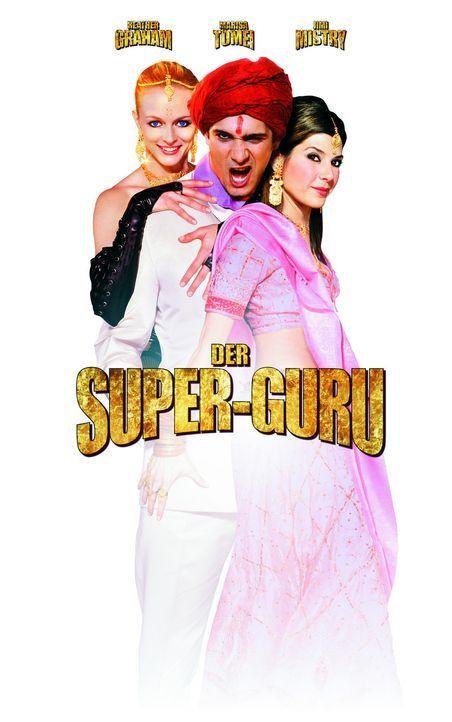 Der Super-Guru Ramu Gupta (Jimi Mistry, M.) und seine zwei Musen Sharonna (Heather Graham, l.) und Lexi (Marisa Tomei, r.) ... - Bildquelle: Universal Pictures