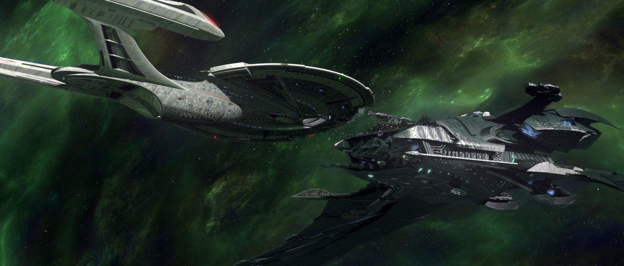 Auf dem Weg durch die Galaxis ... - Bildquelle: Paramount Pictures