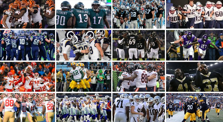 Der Strength of schedule für jedes NFL-Team - Bildquelle: Getty Images