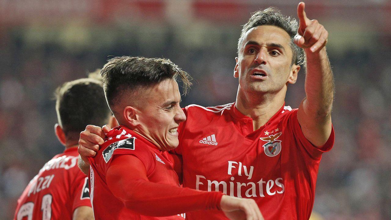 Platz 9: SL Benfica (Primeira Liga/Portugal) - Bildquelle: imago/ZUMA Press