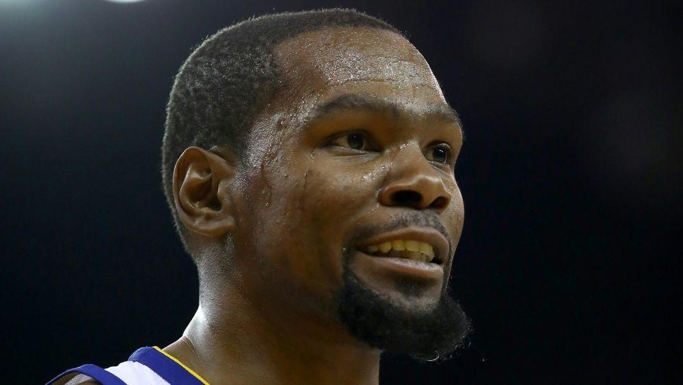 Kevin Durant dreht eine Basketball-Serie - Bildquelle: AFP, GETTY IMAGES NORTH AMERICASIDEZRA SHAW