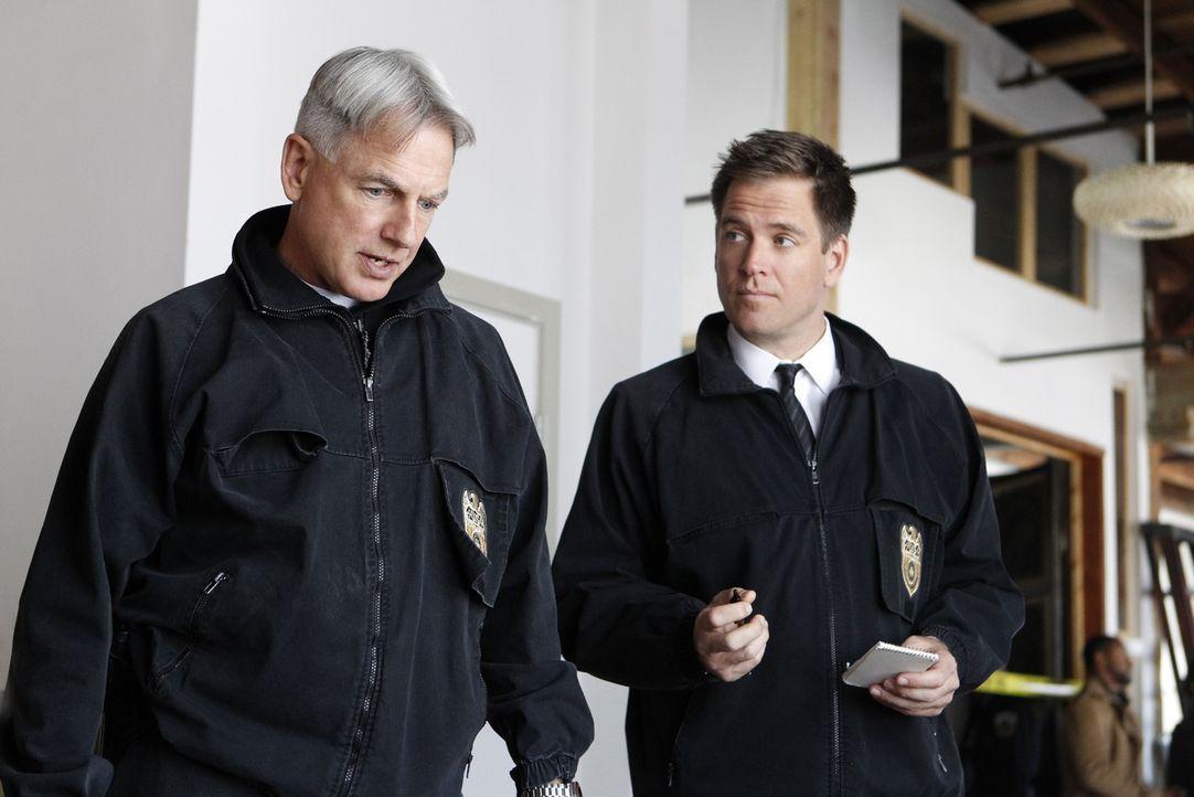 Das NCIS Team sucht den Mörder eines Navy Lieutenant Commanders, doch die Untersuchung wird von deren Ehemann erheblich erschwert: Tony (Michael Wea... - Bildquelle: CBS Television