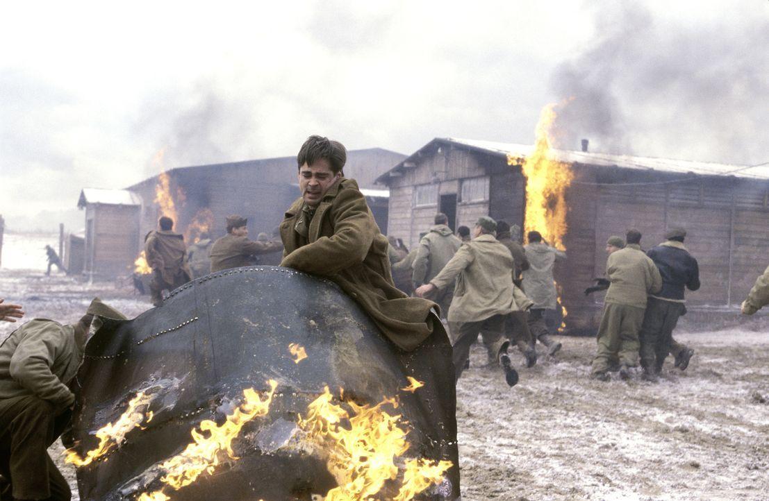 In einem deutschen Kriegsgefangenenlager geschieht während des Zweiten Weltkriegs ein Mord. Der Anführer der amerikanischen Gefangenen, McNamara, be... - Bildquelle: Metro-Goldwyn-Mayer Studios Inc. All Rights Reserved.