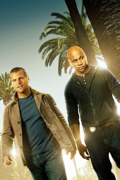 (7. Staffel) - Ermitteln Undercover im sonnigen Kalifornien um die nationale Sicherheit zu wahren: Special Agent G. Callen (Chris O'Donnell, l.) und... - Bildquelle: 2015 CBS Studios Inc. All Rights Reserved.
