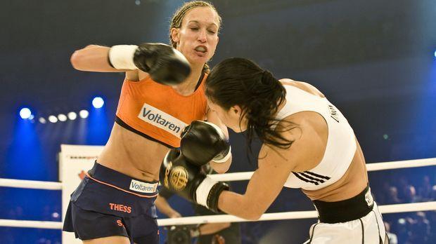 Verteidigt ihren WKA-Gürtel gegen die Russin Marina Zueva: Kickboxweltmeister...