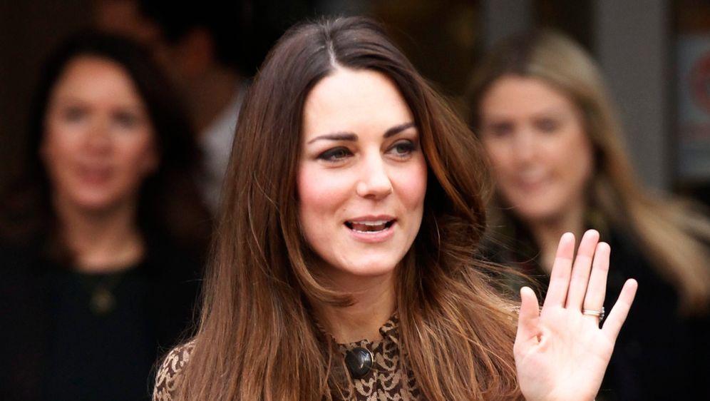 Kate Middleton Mit Neuer Frisur Ombré Look Statt Graues Haar