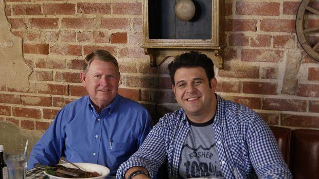 Auf der Suche nach den imposantesten Steaks in ganz Amerika landet Adam Richm...
