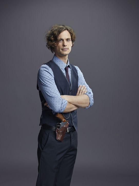 (10. Staffel) - Versucht, jeden Serientäter zu entlarven: Dr. Spencer Reid (Matthew Gray Gubler) ... - Bildquelle: Cliff Lipson ABC Studios