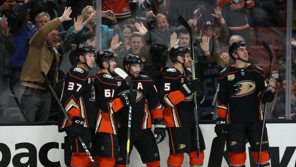Anaheim Ducks schlagen Nashville - Bildquelle: GETTY AFPSIDSean M. Haffey