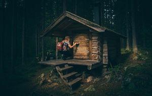 bungalow-hütte